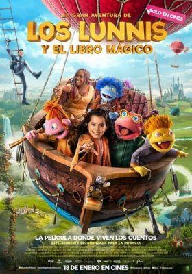 Лунята и большое путешествие в страну Волшебной Книги