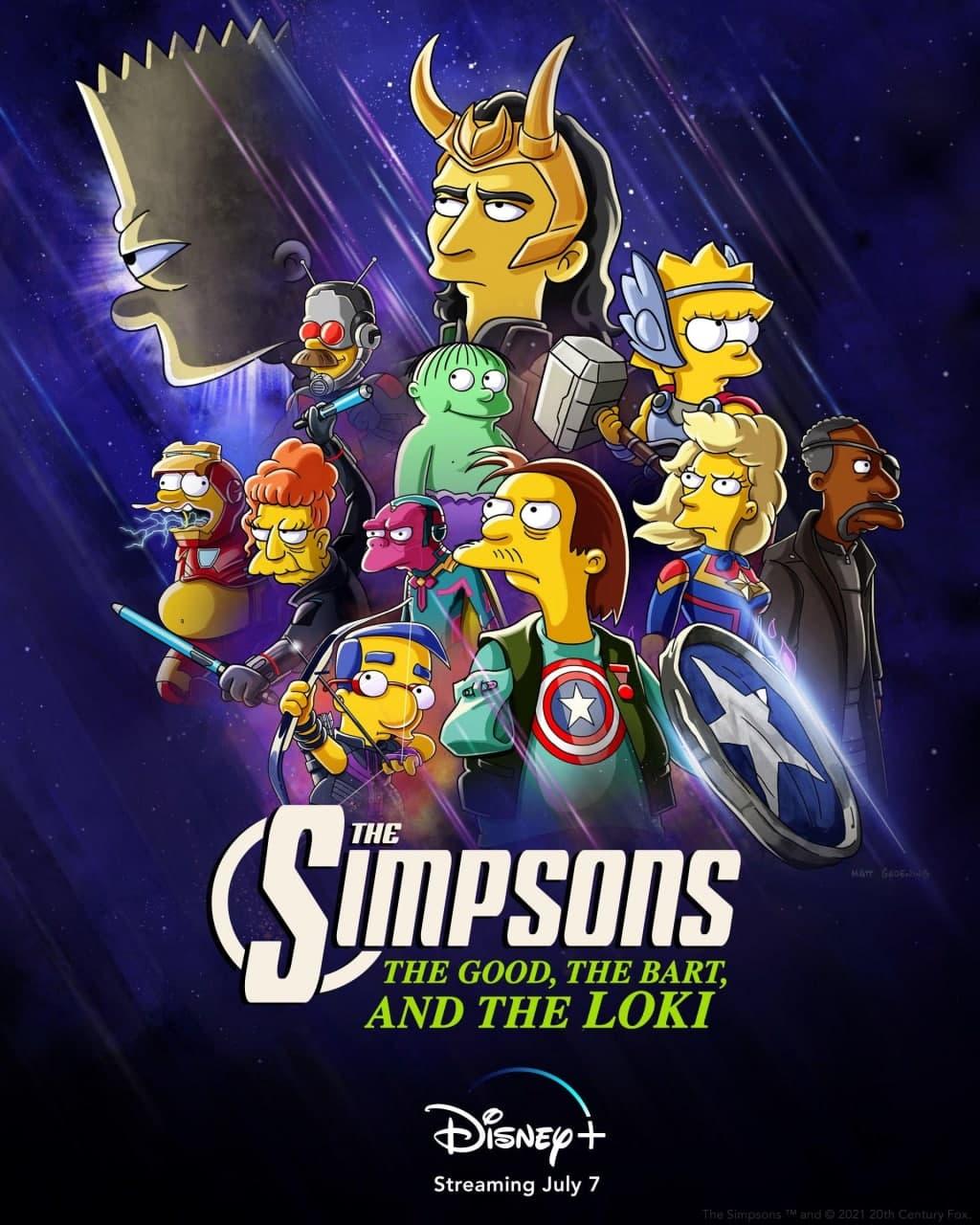 Симпсоны: Хороший, Барт и Локи